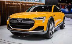 2018 Audi H-Tron Quattro – Unusual Concept