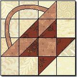 Bread Basket Quilt Block