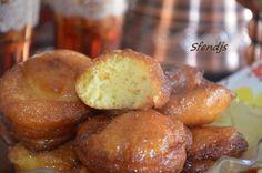 Sfenj beignet algérien facile et rapide, recette sfenj algérien au miel et fleur d'oranger à la semoule fine,recette sfenj facile et rapide