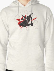Bull caught in a barbed wire  T-Shirt