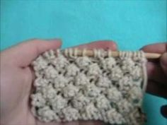 Knitting How To: Trinity Stitch - YouTube