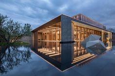 The Park Era Experience Center | United Units Architects; Photo: Weiqi Jin | Archinect Experience Center, Landscape Architecture, Jin, Architects, Outdoors, Exterior, The Unit, Mansions, Park