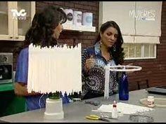 Construye una Divertida Lámpara con Popotes (METVC)