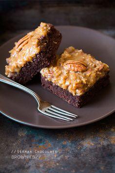 German Chocolate Brownies | Cooking Classy