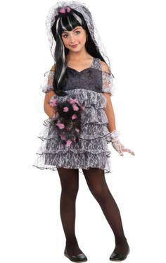 Child Zombie Bride Costume | Jokers Masquerade