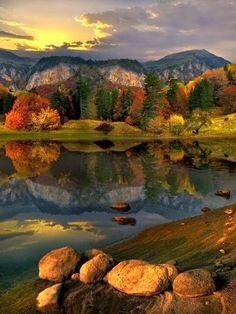 Early Autumn Lake, Bulgaria