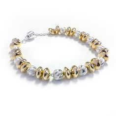 Glitter and Gold Bracelet Kit