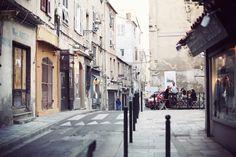 Streets of Bastia, Corsica #France