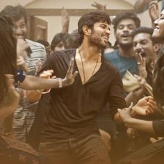 Best friends, folk beats, a college canteen. and a 3 minute long dance like no one's watching take. Tomorrow AM Actor Picture, Actor Photo, Good Moral Stories, Famous Indian Actors, Jayam Ravi, Telugu Hero, Vijay Actor, Indian Photoshoot, Samantha Photos