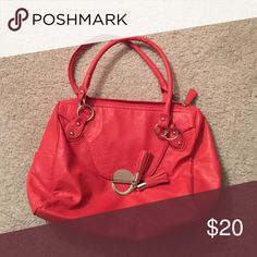 Handbag 12x14  two small pockets on outside. NWOT Bags Satchels