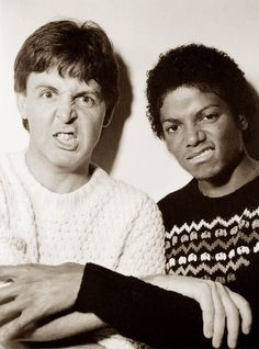 Paul McCartney & Michael Jackson - The Man (Home Movie Footage, 1981) | Curiosities and Facts about Michael Jackson ღ by ⊰@carlamartinsmj⊱