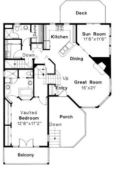 First Floor Floor Plan for Winchester