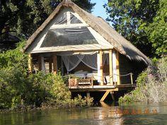 Sindabezi Island, Zambezi River, Victoria Falls ,Zambia, Best place ever Victoria Falls, Heaven On Earth, Places Ive Been, Safari, Africa, Cabin, River, Island, Luxury