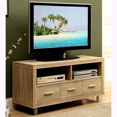 Monarch Reclaimed Look 48-inch TV Console with Drawers