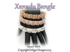 Xanadu Bangle  Tila Pattern Tutorial by DebgerDesigns on Etsy, $7.00