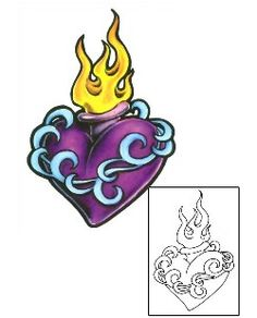 Sacred Heart Tattoos Created by Gail Somers Traditional Tattoo Prints, Sacred Heart Tattoos, Christian Tattoos, Heart Tattoo Designs, Tattoo Images, Body Art Tattoos, Celtic, Stencils, Tattoo Ideas