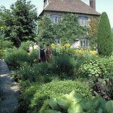 Sissinghurst - The Garden of the Bloomsbury Set: English Cottage Garden at Sissinghurst Castle Garden in Kent