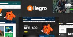Download Allegro v1.1 - WooCommerce WordPress Theme for Hand Tool & Equipment Stores Nulled Latest Version
