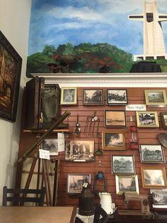 Cafe Utopia pared del recuerdo. En Ponce Puerto Rico.