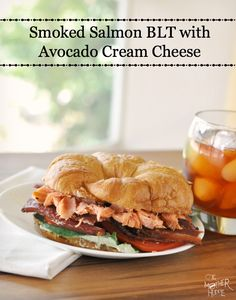 Smoked Salmon BLT With Avocado Cream Cheese Spread