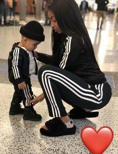 """Moi et mon enfant allons être boujee et avoir des tenues assorties de """"streetwear""""."""