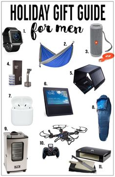 2017 Holiday Gift Guide | Men
