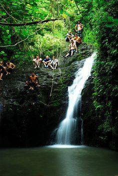Maunawili Falls - 3.2 mile hike, Moderate