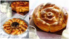 Тутманик със сметана и Фета / Tutmanik with sour cream and feta http://sentimentsinthekitchen.blogspot.com/2015/01/blog-post_21.html