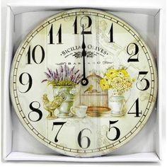 Sicilian, Clock, Home Decor, Watch, Decoration Home, Room Decor, Clocks, Home Interior Design, Home Decoration