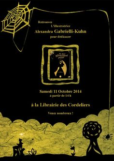 Alexandra Gabrielli-Kuhn  :  Illustratrice Jeunesse Papercut: Première dédicace prévue pour le 11 octobre à la L...