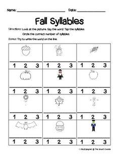 Fall Syllables
