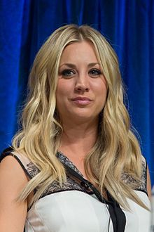 "Kaley Christine Cuoco-Sweeting --(Penny) November 30, 1985 Kaley Cuoco's bubbly and down-to-earth personality underscored her role as the thinking man's crush on the hit comedy series ""The Big Bang Theory"" (CBS, 2007- ). Playing a waitress and aspiring actress who befriends her intelligent but socially inept neighbors,"