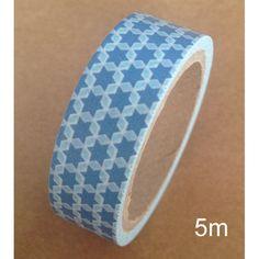 Washi Tape Star blue: