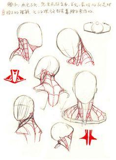 原创作品:【干货】春哥制造:人体结构绘画...@Jeffrey_Chan采集到绘(545图)_花瓣插画/漫画
