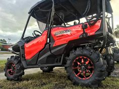 "Custom Honda Pioneer 1000 on 30"" Tires & Wheels | ITP Monster Mayhem & STI HD6 | Custom Side by Side ATV / UTV Pictures | Honda-Pro Kevin"