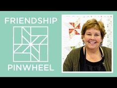 Jenny's Friendship Pinwheel Quilt - YouTube