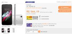 "Smartphone Alcatel Idol 3 Dual Chip Android 5.0 Tela 4.7"" 16GB 4G 13MP << R$ 56619 >>"