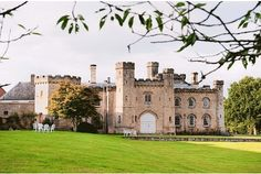 marriages made in heaven:  Chiddingstone Castle has been voted Kent's best wedding venue