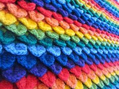 Check out this collection of fun crochet patterns featuring the popular crocodile stitch for some fresh project inspiration!