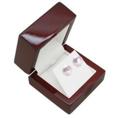 Cherry Wood Earring Gift Box Geff House. $9.99. Beautiful Polished cherry wood color. Jewelry is not included.. Enhance your jewelry with this beautiful cherry wood Earring box. Beautiful White interior