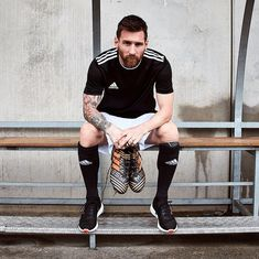 adidas Football Completes Skystalker Collection With NEMEZIZ and To be worn by Lionel Messi, Karim Benzema, Luis Suarez and others. Lionel Messi, Rugby, Antonella Roccuzzo, Argentina National Team, Club World Cup, Neymar Jr, Fc Barcelona, Angel Tattoo Men, Ronaldo