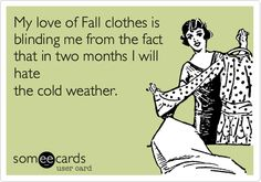 My love of Fall clothes is blinding me from the fact that in two months I will hate the cold weather.