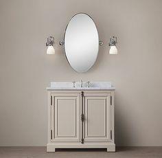 French Casement Single Vanity