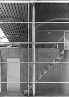 Toyo Ito, House in Magomezawa. 1985-86. Concrete, steel, mesh.