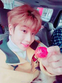 [05.01.17] Astro official weibo - MyungJun Sanha, Mj, Strawberry, Star, All Star, Strawberries, Red Sky At Morning
