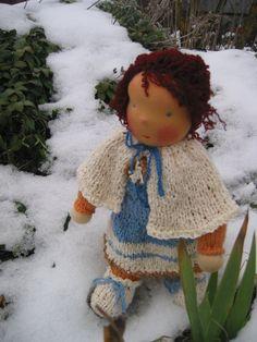 Waldorf type big haired girl doll by FeltingZsuska on Etsy Girl Dolls, Crochet Hats, Type, Big, Gifts, Etsy, Fashion, Knitting Hats, Moda