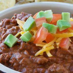 Fiesta Beef and Bean Dip Recipe 1 packet ounce) Hidden Valley® Fiesta Ranch Dips Mix (Hidden Valley® Fiesta Ranch Dips Mix)½ pound ground beef (ground Beef Pot Roast, Slow Cooker Roast, Pot Roast Recipes, Gourmet Recipes, Beef Recipes, Cooking Recipes, Taco Soup Ranch, Ranch Dip, Ranch Meatloaf