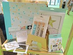BRAND NEW- DAY 2 Teresa Collins Studio Gold Photo Albums partnered with We R Memory Keepers. TC sequins and GOLD FOILED CARDS with AME.