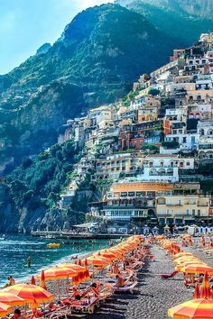 Places to see: Hillside, Positano, Italy
