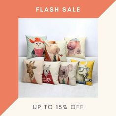 HAVE YOU SEEN OUR FEATURED COLLECTION YET?  LEARN MORE AT www.pillowmodel.com  #pillowmodel #pillow #cover #onlinestore #animals #homedecor